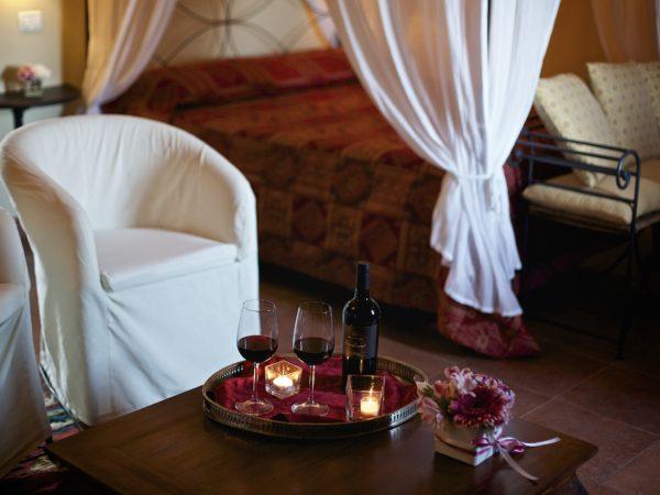 Suite Rossa a tenuta monacelli - Immagine 7